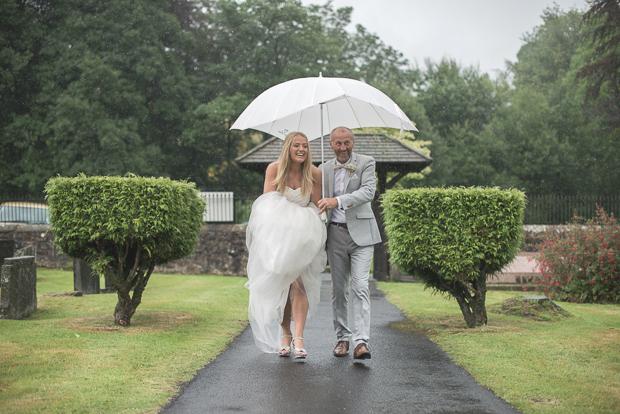Blush Pink & pale Grey Shabby Chic Real Wedding (58)