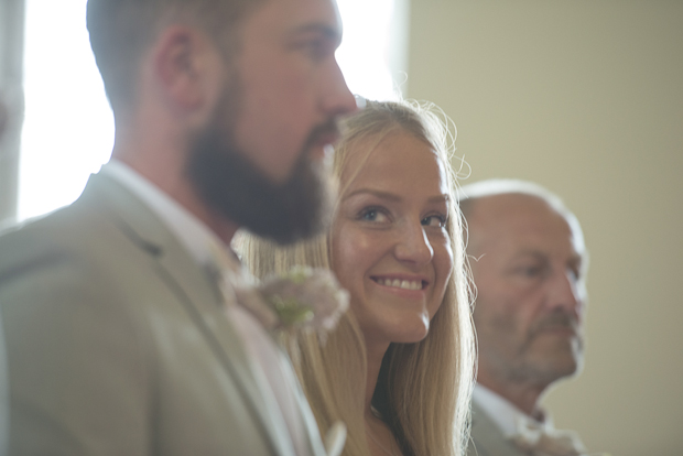 Blush Pink & Pale Grey Shabby Chic Real Wedding: Pete & Carley