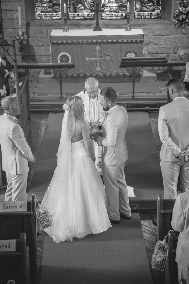 Blush Pink & pale Grey Shabby Chic Real Wedding (66)