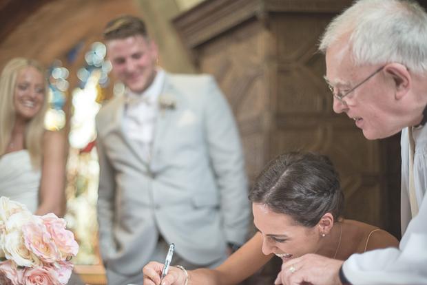 Blush Pink & pale Grey Shabby Chic Real Wedding (71)