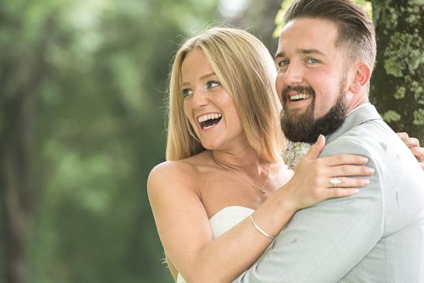 Blush Pink & pale Grey Shabby Chic Real Wedding (81)