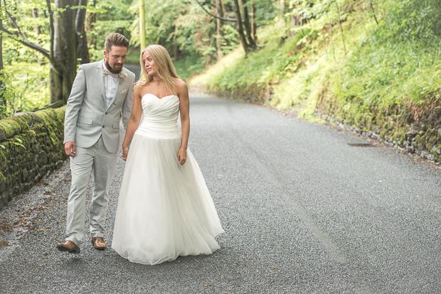 Blush Pink & pale Grey Shabby Chic Real Wedding (83)