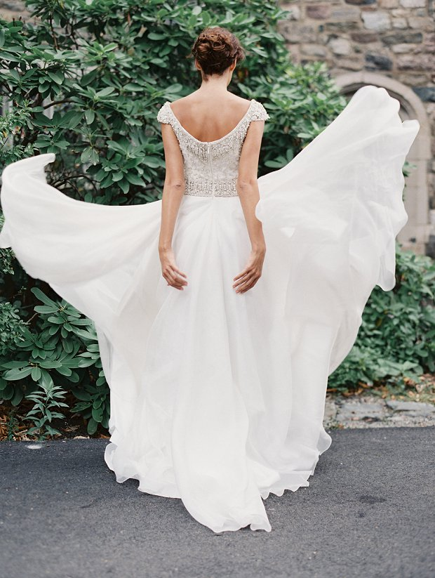 Collette! Sarah Nouri Wedding Dresses Fall 2015
