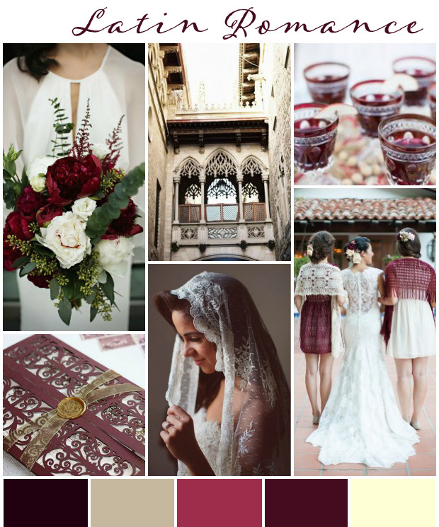 Latin Romance Wedding Inspiration & Ideas