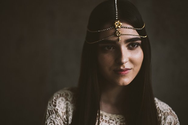 Mignonne Headpieces, Halos, Crowns & Veils | Autumn & Winter 2015