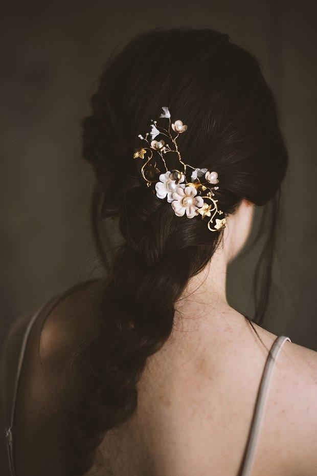Mignonne Headpieces, Halos, Crowns & Veils | Autumn & Winter 2015