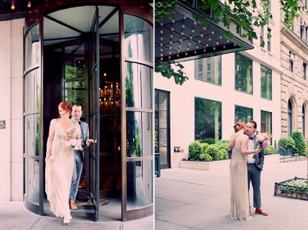 New York Elopement With Sparkly BHLDN Wedding Dress_0032