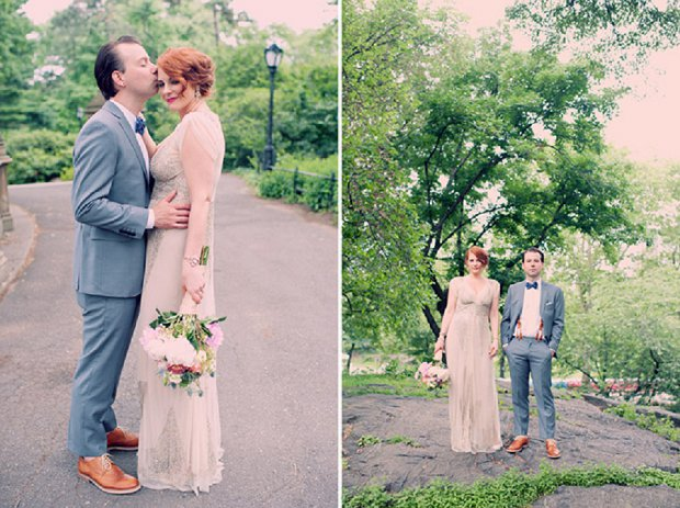 New York Elopement With Sparkly BHLDN Wedding Dress_0059