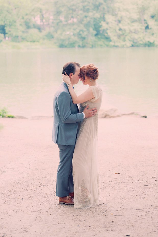 New York Elopement With Sparkly BHLDN Wedding Dress_0061