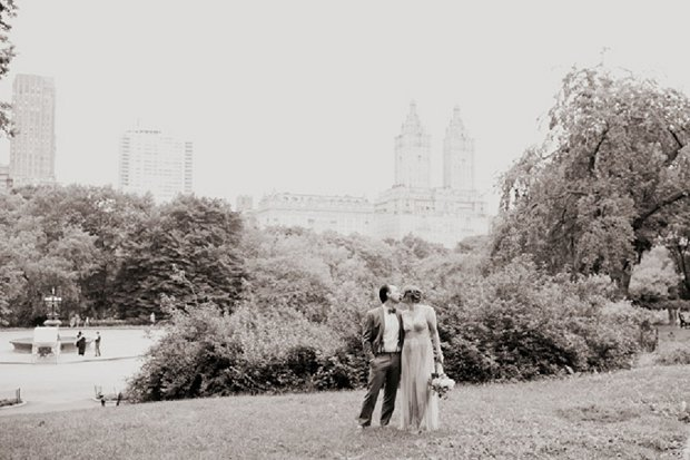 New York Elopement With Sparkly BHLDN Wedding Dress_0063