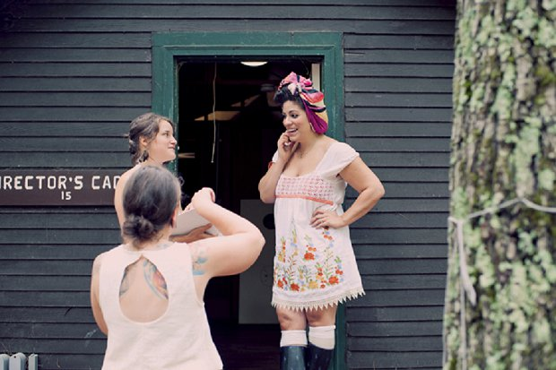 Summercamp Inspired Outdoor Wedding With a Vintage 1950s Wedding Dress_0014 - Copy