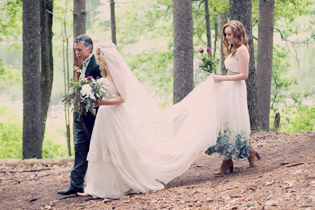 Summercamp Inspired Outdoor Wedding With a Vintage 1950s Wedding Dress_0087 - Copy