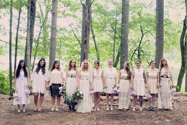 Summercamp Inspired Outdoor Wedding With a Vintage 1950s Wedding Dress_0105 - Copy