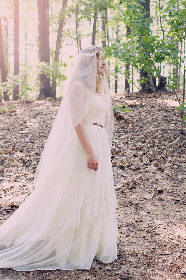 Summer Camp Inspired Forest Wedding With Thrift Shop Finds: Patrick & Kinsey