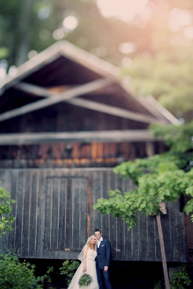 Summercamp Inspired Forest Wedding With Thrift Shop Finds: Patrick & Kinsey