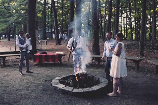 Summercamp Inspired Outdoor Wedding With a Vintage 1950s Wedding Dress_0140 - Copy