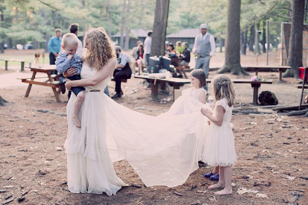 Summercamp Inspired Outdoor Wedding With a Vintage 1950s Wedding Dress_0144 - Copy