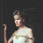 Antique Gold & Black Ink Wedding Inspiration