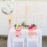 Pink, Yellow & Silver Wedding Inspiration & Ideas