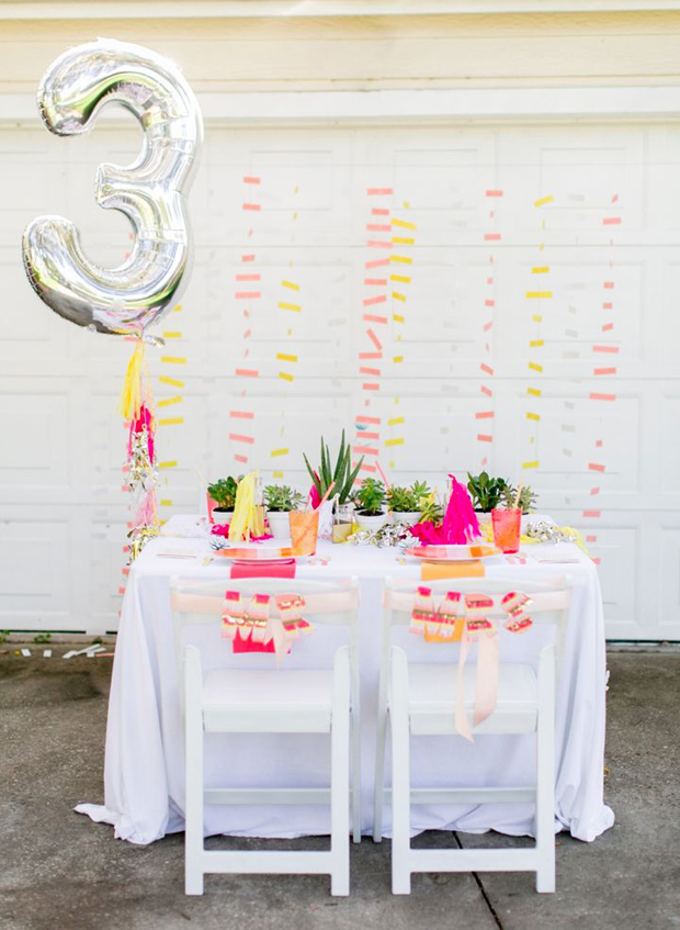 Modern Pink Yellow Silver Wedding Inspiration Ideas
