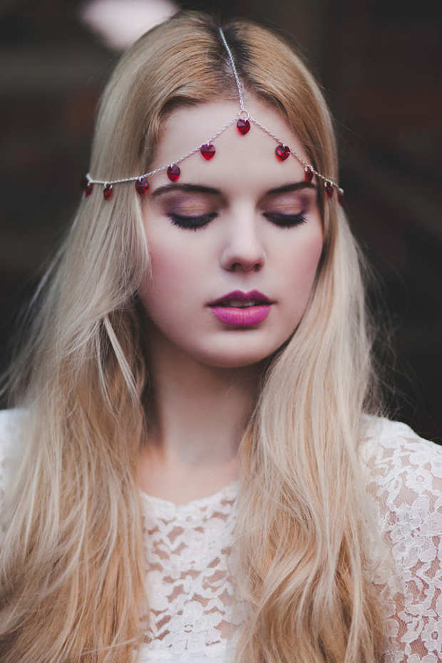 VALENTINE!! Boho Forehead Bands & Beautiful Halo Crowns | Bridal Style