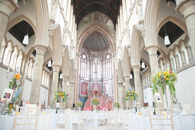Bright & Colourful Wedding in Grade II Listed Building, The Monastery