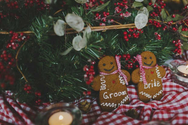 Christmas Styled Wedding Shoot With Nordic Touches