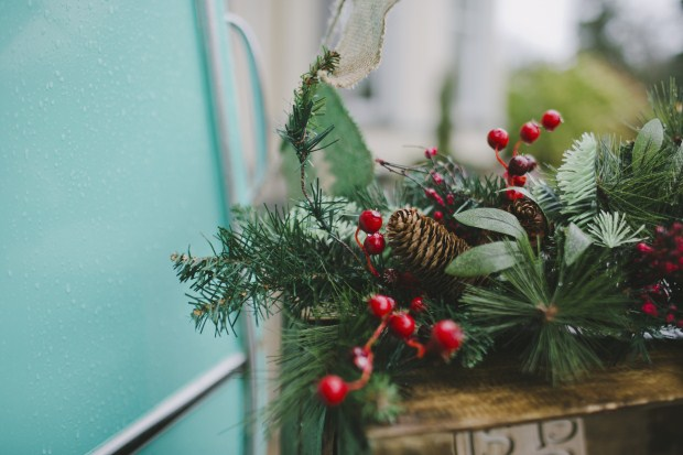 A Romantic Christmas Styled Wedding Shoot With Nordic Touches