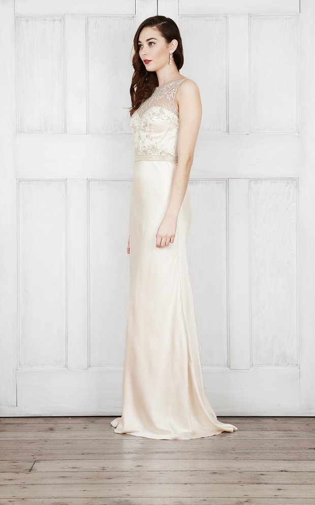 Modern Romance Wedding Dress : Wedding dresses modern romantic bridal by catherine