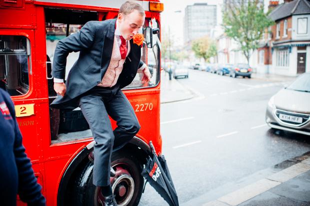 A Super Fun, 'London' Inspired Real Wedding: Jen & Tris