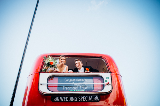A Super Fun, 'London' Inspired Real Wedding: Jen & Tris