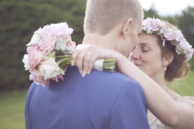 Romantic Boho Wedding With A Beautiful Claire Pettibone Wedding Dress: Kyla & Keith