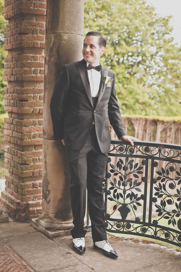 1920s Prohibition Style Safari Wedding - Groom
