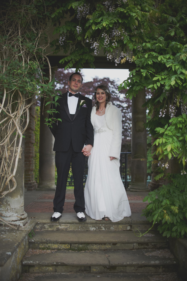 1920s Prohibition Style Safari Wedding: Charlotte & Steve