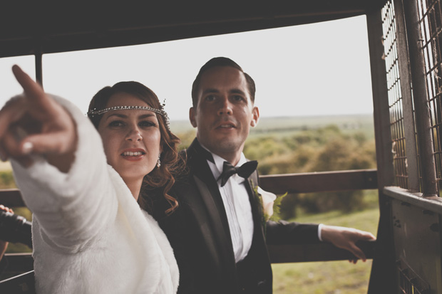 1920s Prohibition Style Safari Wedding