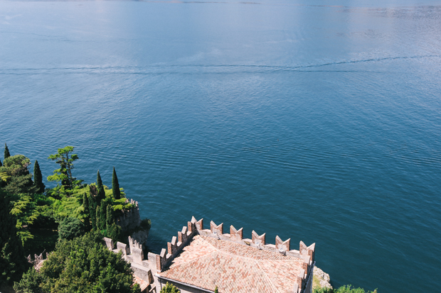 Fairy Tale Castle Wedding in Malcesine, Lake Garda, Italy: Katie & David