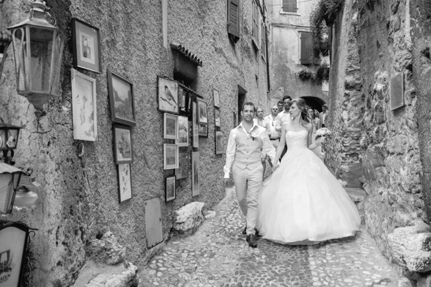 Fairytale Castle Wedding in Malcesine, Lake Garda, Italy: Katie & David