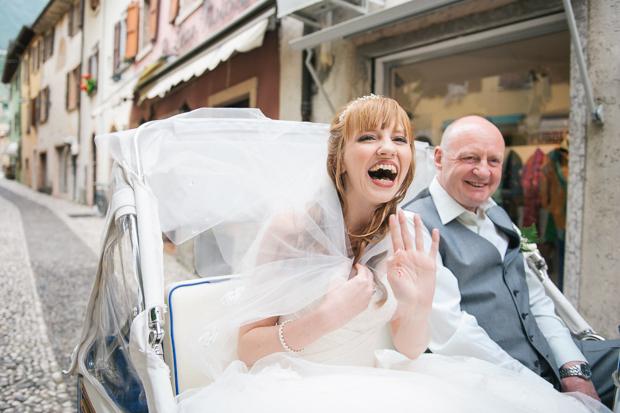 Fairy Tale Castle Wedding in Malcesine, Lake Garda, Italy: Katie & David