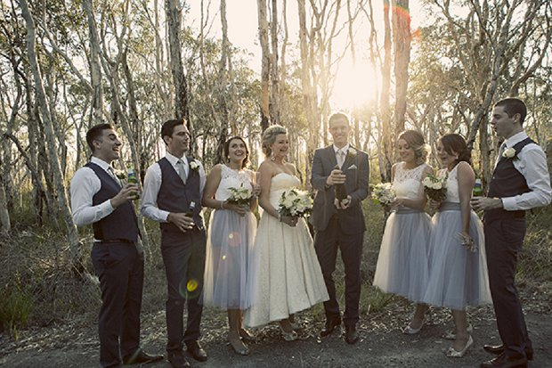 An Old School Romantic DIY Wedding With Vintage Touches_0044
