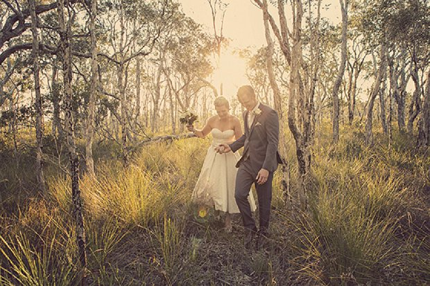 An Old School Romantic DIY Wedding With Vintage Touches_0054