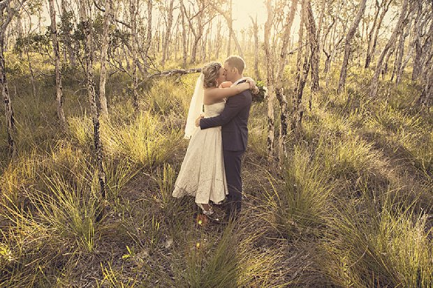 An Old School Romantic DIY Wedding With Vintage Touches_0055