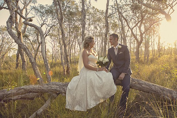 An Old School Romantic DIY Wedding With Vintage Touches_0056