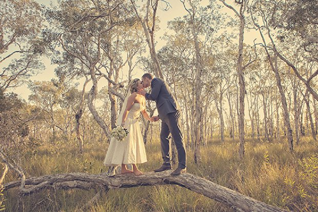 An Old School Romantic DIY Wedding With Vintage Touches_0057
