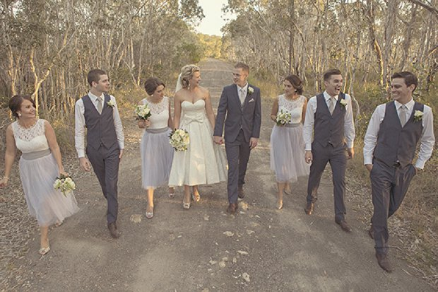 An Old School Romantic DIY Wedding With Vintage Touches_0060