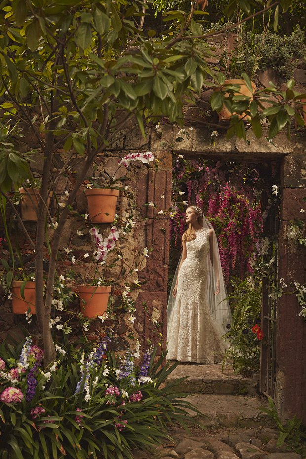 B H L D N Wedding Dresses Spring 2015: The Painted Garden