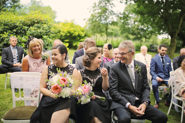 Black & White Stripes With Contrasting Floral Theme Real Weddng (19)