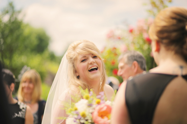 Black & White Stripes With Contrasting Floral Theme Real Weddng (34)