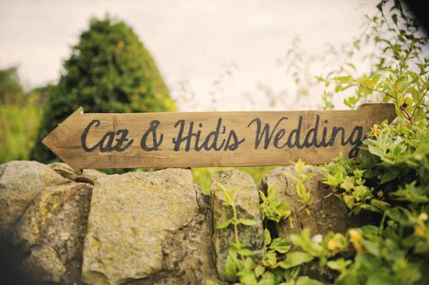 Black & White Stripes & Pretty Floral, Secret Garden Wedding: Carolyn & Hid