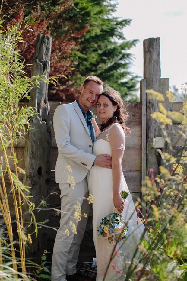 Sweet & Relaxed 'Beachy' Camber Sands Wedding: Claire & Will
