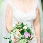 Country Chic Military Real Wedding: Charmaine & Sam